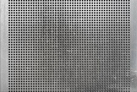 metal holed or perforated grid background  Stock Photo - 12951545