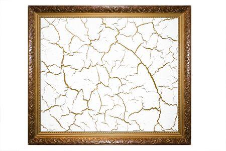 crackle: frame with crack