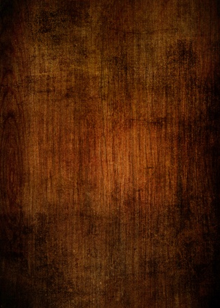burnt wood: grunge old cherry parquet texture Stock Photo