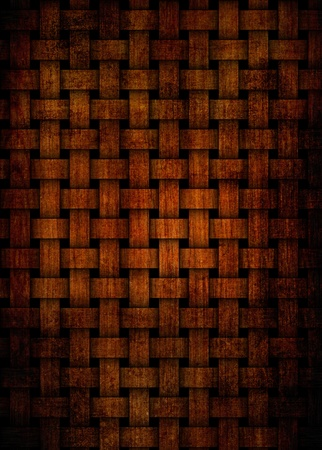 grunge old cherry weave texture photo