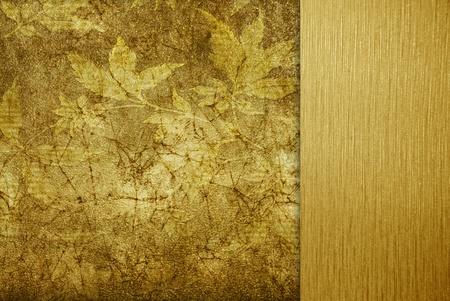 absract retro gold flourish classical template photo