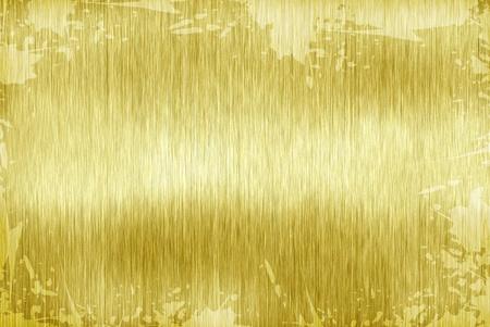 gold plaque: dity template golden metal texture Stock Photo