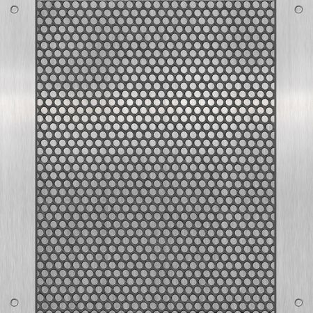 pattern of metal background Stock Photo - 12951462