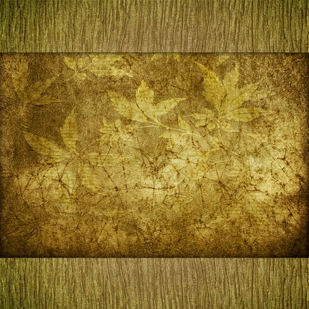 absract retro gold flourish classical template photo