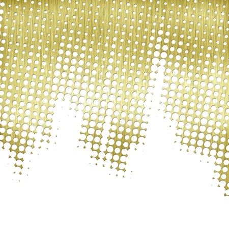 abstract background metal halftone with copyspace photo