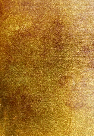 golden texture of venetian stucco photo