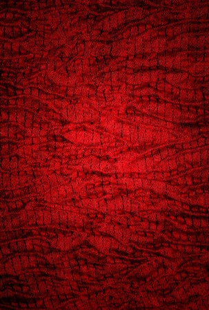 red fabric  texture  of background photo