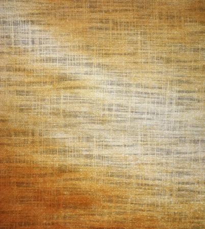 dirty golden linen texture of background  photo