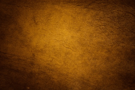 dark golden leather of texture photo