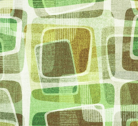 50s fashion: retro of colorful square background