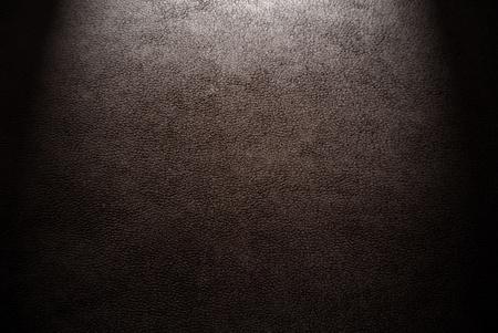 qualitative: Natural qualitative brown leather texture  Close up  Stock Photo