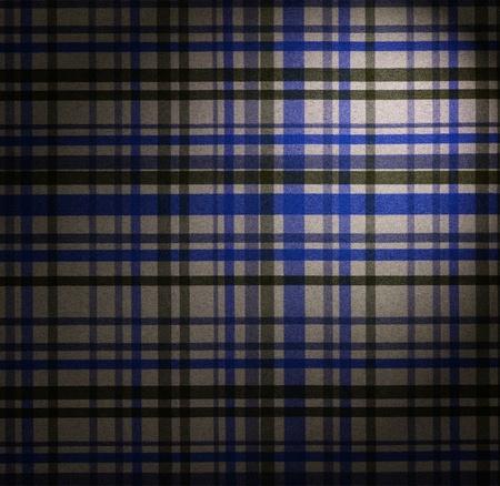 fabrick: square blue fabric of tartan texture