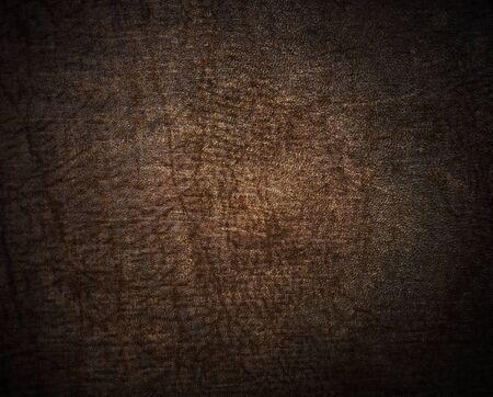 Natural qualitative beige leather texture  Close up  photo