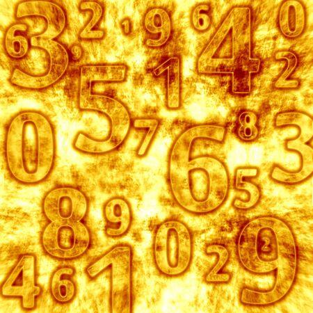 multiplicar: números Foto de archivo