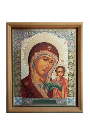 jesus and mary icon - of  Religious Icons