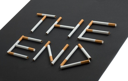 tar paper: conceptual picture of death smoker