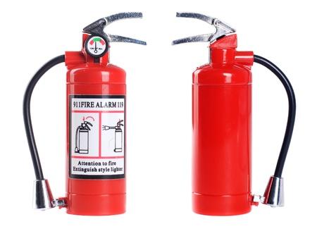fire extinguisher isolated on white background