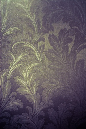 vintage silver floral of background Stock Photo - 14179197