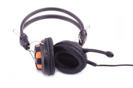 ear phones: Ear phones isolated on white