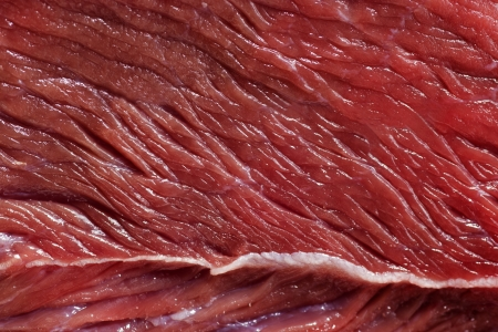 raw meat texture of close up Stock Photo