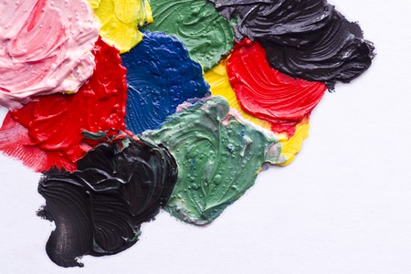 Abstract acrylic of painted background Stock Photo - 17753562