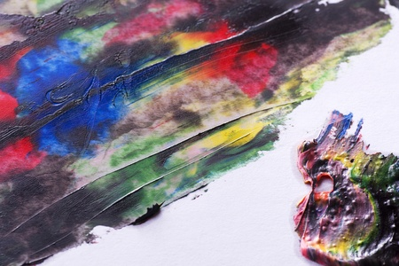 Abstract acrylic of painted background Stock Photo - 17753566
