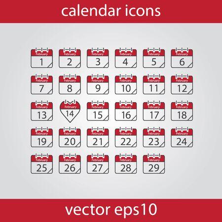 calendar icon: Calendar icon, vector illustration. Calendar Date.