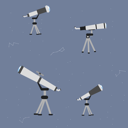optical people person planet: Astronomy vector icon set. A collection of space themed symbols