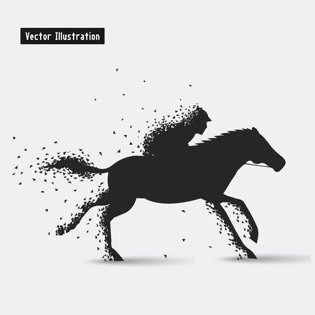 decathlon: Horseback riding.