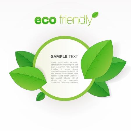 Eco friendly Stock Vector - 13640570
