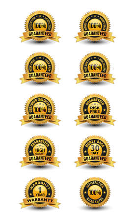 100% satisfaction guaranteed set with top quality supported badges.