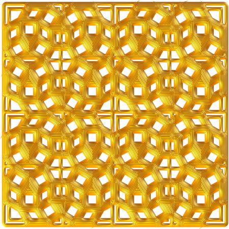 Golden ornament background