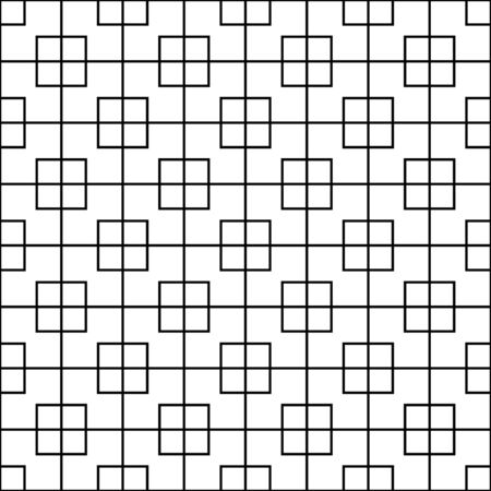 seamless abstract linear square pattern. luxurious design pattern. pattern for print, tiles, background, web