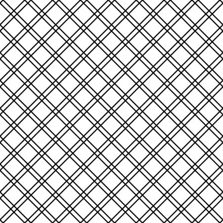 seamless pattern with linear checked square boxes on white background. pattern for fabric, background, print, wrapping, etc. 矢量图像