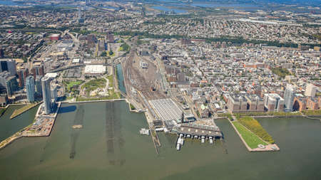 Aerial view of New Jersey, NYC. Stock fotó