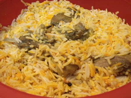 non vegetarian: Mutton biryani