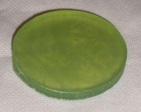 neem: Aloe vera and neem soap isolated