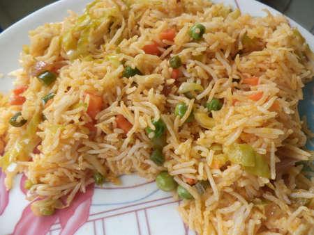 biryani: Vegetable biryani