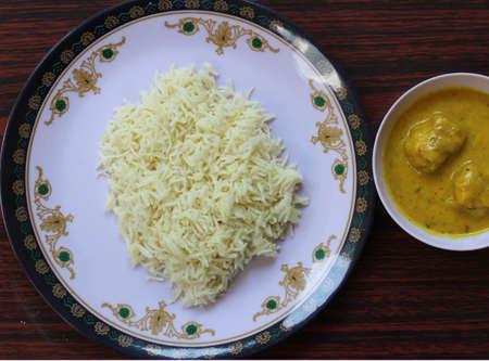 Kadhi rice Stock Photo