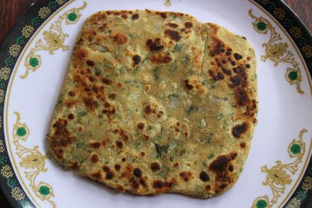 paratha: Mint paratha