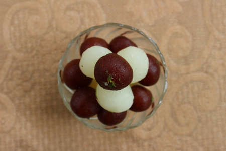 Gulab jamun and rasgullas