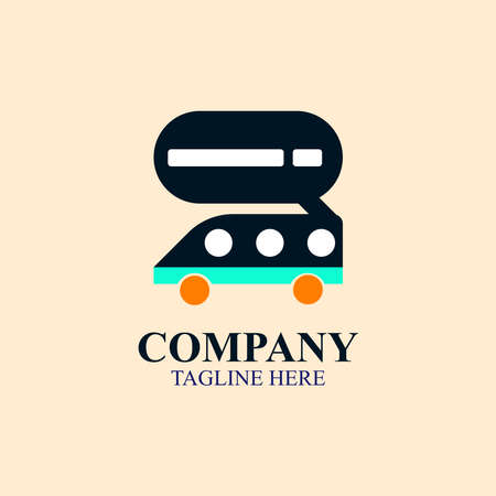 Simple company campervan RV logo vector design great for any businesses/companies/projects/purposes niche