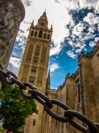 Giralda, the bell tower of Seville cathedral