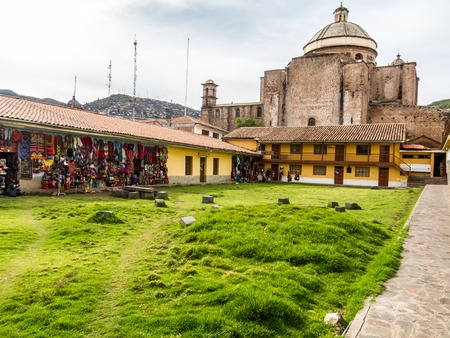 Rear view of Cusco cathedral