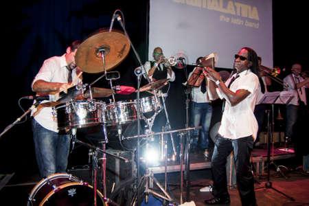ミュンヘン 2011 年にクロマ ラティーナ - ラテンのバンド - コンサート