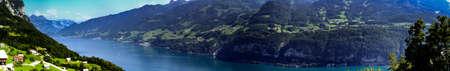 パノラマ ビュー、スイスのヴァレン