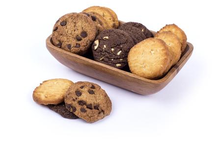 Assorted cookies, mix cookies, handmade assorted cookies Banco de Imagens - 85468942