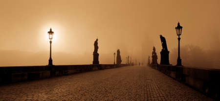 wiki: Photo of the Charles bridge in Prague, Czech republic From wiki: The Charles Bridge is a famous historical bridge that crosses the Vltava river in Prague, Czech Republic. Its construction started in 1357 under the auspices of King Charles IV, and finished