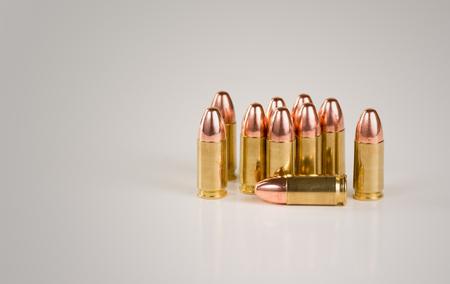 9mm brass shell ammo