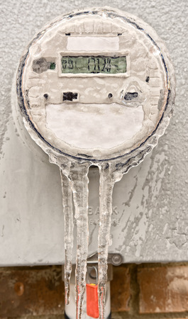 electric current: Modern digital electric meter  Freezing the time, lower the electricity bill